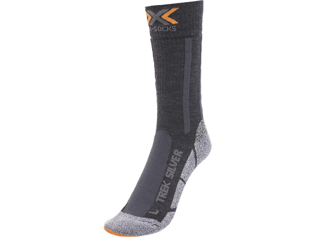X-Socks Trekking Silver Socks Unisex Black/Anthracite